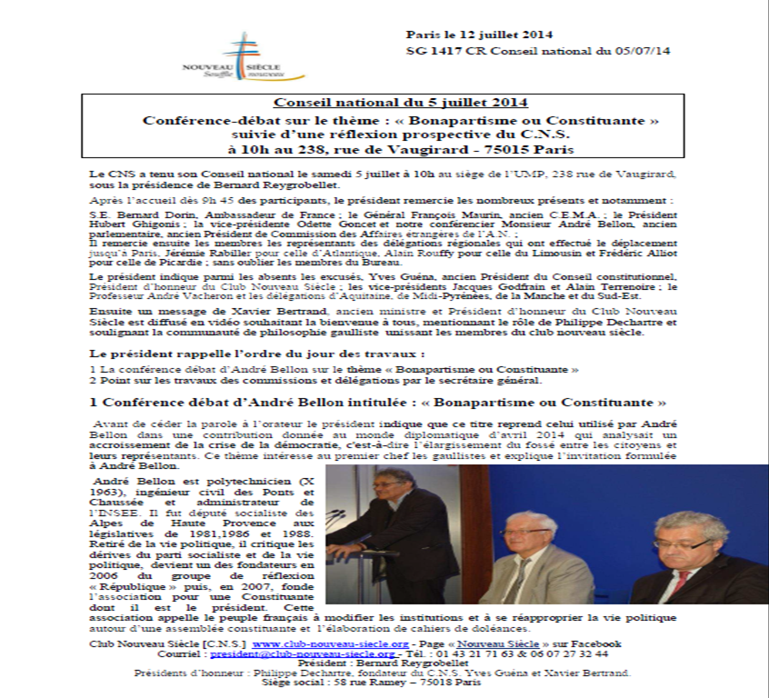 PV Conseil National 5 juillet 2014